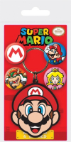Купить Сувенирный набор Pyramid, брелок + значки Super Mario: Mario, 3шт (GP85258)