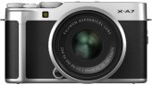 Системный фотоаппарат Fujifilm X-A7 15-45 Silver