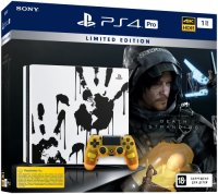 Игровая приставка PlayStation 4 Pro 1TB Limited Edition + Death Stranding