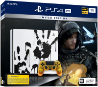 Купить Игровая приставка PlayStation, 4 Pro 1TB Limited Edition + Death Stranding