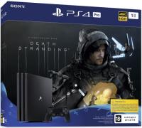 Купить Игровая приставка PlayStation, 4 Pro 1TB + Death Stranding