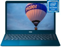 "Ноутбук Haier U144S (Intel Celeron N3350 1100Mhz/14.1""/1920х1080/4GB/128GB SSD/DVD нет/Intel HD Graphics 500/Wi-Fi/Bluetooth/Win 10 Home)"