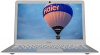 "Ноутбук Haier I424 (Intel Pentium N4200 1100Mhz/13.3""/1920х1080/4GB/180GB SSD/DVD нет/Intel HD Graphics 505/Wi-Fi/Bluetooth/Win 10 Home)"