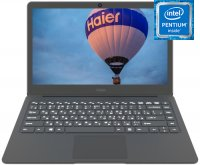 "Ноутбук Haier I428 (Intel Pentium N4200 1100Mhz/13.3""/1920х1080/8GB/180GB SSD/DVD нет/Intel HD Graphics 505/Wi-Fi/Bluetooth/Win 10 Home)"