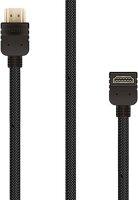 HDMI-кабель Rombica Digital HX10AB, 1 м, угловой (CB-HX10AB)