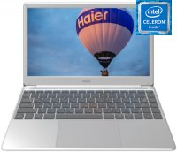 "Ноутбук Haier U144E (Intel Celeron N3350 1100Mhz/14.1""/1920х1080/4GB/32GB eMMC/DVD нет/Intel HD Graphics 500/Wi-Fi/Bluetooth/Win 10 Home)"
