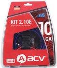 Набор для подключения двухканального усилителя ACV Kit 2.10E