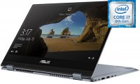 "Ноутбук-трансформер ASUS VivoBook TP412FA-EC174T (Intel Core i7-8565U 1.8GHz/14""/1920х1080/8GB/512GB SSD/Intel UHD Graphics 620/DVD нет/Wi-Fi/Bluetooth/Win 10)"