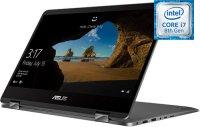 "Ноутбук-трансформер ASUS VivoBook UX461FA-E1152T (Intel Core i7-8565U 1.8GHz/14""/1920х1080/8GB/256GB SSD/Intel UHD Graphics 620/DVD нет/Wi-Fi/Bluetooth/Win 10)"
