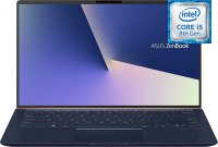 "Ультрабук ASUS ZenBook 14 UX433FA-A5297T (Intel Core i5-8265U 1.6GHz/14""/1920х1080/8GB/256GB SSD/Intel HD Graphics 620/DVD нет/Wi-Fi/Bluetooth/Win 10)"