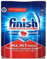 Таблетки для посудомоечной машины Finish All in 1 Max, 13 таблеток