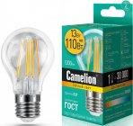 Светодиодная лампа Camelion LED13-A60-FL/830/E27