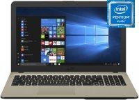 "Ноутбук ASUS F540UB-GQ1225T (Intel Pentium 4417U 2.3GHz/15.6""/1366х768/4GB/500GB/NVIDIA GeForce MX110/DVD нет/Wi-Fi/Bluetooth/Win10)"