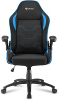Игровое кресло SHARKOON Elbrus 1 Black/Blue фото