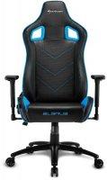 Геймерское кресло SHARKOON Elbrus 2 Black/Blue