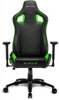 Геймерское кресло SHARKOON Elbrus 2 Black/Green