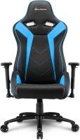Геймерское кресло SHARKOON Elbrus 3 Black/Blue