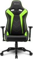 Геймерское кресло SHARKOON Elbrus 3 Black/Green