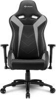 Геймерское кресло SHARKOON Elbrus 3 Black/Grey