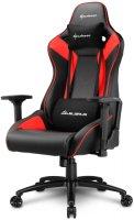 Геймерское кресло SHARKOON Elbrus 3 Black/Red