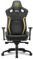 Геймерское кресло SHARKOON Shark Zone GS10 Black/Yellow