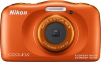 Компактный фотоаппарат Nikon Coolpix W150 Orange Backpack Kit