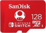 Карта памяти SanDisk microSDXC 128GB для Nintendo Switch (SDSQXAO-128G-GNCZN)