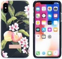 Чехол Ted Baker для iPhone X Lacet Peach Blossom Black (62347)