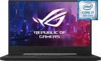 """Игровой ноутбук ASUS ROG Zephyrus M GU502GV-ES116 (Intel Core i7-9750H 2.6GHz/15.6""""/1920х1080/16GB/512GB SSD/nVidia GeForce RTX 2060/DVD нет/Wi-Fi/Bluetooth/ОС нет)"""