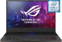 "Игровой ноутбук ASUS ROG Zephyrus S GX701GXR-H6143T (Intel Core i7-9750H 2.6GHz/17.3""/1920х1080/16GB/512GB SSD/nVidia GeForce RTX 2080/DVD нет/Wi-Fi/Bluetooth/Win 10)"