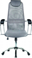 Кресло Метта BK-8CH Light-Grey (531511) фото