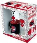Сувенирный набор ABYstyle Marvel: Spider-Man стакан + кружка для кофе + брелок (ABYPCK158)