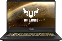 "Игровой ноутбук ASUS TUF Gaming FX705DU-H7133T (AMD Ryzen 7 3750H 2.3GHz/17.3""/1920х1080/16GB/1TB HDD + 512GB SSD/nVidia GeForce GTX1660Ti/DVD нет/Wi-Fi/Bluetooth/Win 10)"
