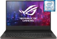 "Игровой ноутбук ASUS ROG Zephyrus S GX701GVR-H6031T (Intel Core i7-9750H 2600Mhz/17.3""/1920х1080/32GB/1TB SSD/DVD нет/NVIDIA GeForce RTX 2060/Wi-Fi/Bluetooth/Win 10)"
