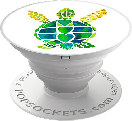 Кольцо-держатель Popsockets Turtle Love (101380)