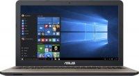 Ноутбук ASUS X540BA-GQ386 (AMD A4 -9125 2.3GHz/15.6''/1366x768/4GB/500GB/AMD Radeon R3/DVD нет/Wi-Fi/Bluetooth/Linux)