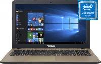 "Ноутбук ASUS VivoBook 15 X540NA-GQ005T (Intel Celeron N3350 1.1GHz/15.6""/1366х768/4GB/500GB HDD/Intel HD Graphics 500/DVD нет/Wi-Fi/Bluetooth/Win 10)"