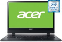 Ноутбук Acer Swift 7 SF714-51T-M427 (NX.GUJER.001) (Intel Core i7-7Y75 1.3GHz/14''/1920x1080/8GB/256GB SSD/Intel UHD Graphics 615/DVD нет/Wi-Fi/Bluetooth/Win10 x64)