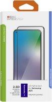 Защитное стекло с рамкой 2.5D InterStep для Galaxy A71 Black