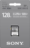 Карта памяти Sony SDXC 128GB 270R/120W (SF-E128/T)