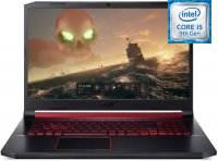 "Игровой ноутбук Acer Nitro 5 AN517-51-553B (NH.Q5CER.024) (Intel Core i5-9300H 2400Mhz/17.3""/1920х1080/8GB/1TB SSD/DVD нет/NVIDIA GeForce GTX1650/Wi-Fi/Bluetooth/Linux)"