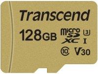 Карта памяти Transcend microSDXC 128GB (TS128GUSD500S)