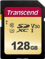 Карта памяти Transcend SDXC 128GB (TS128GSDC500S)