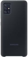 Чехол Samsung Silicone Cover для Samsung Galaxy A51 Black (EF-PA515TBEGRU)