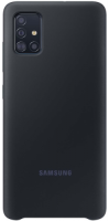 Чехол Samsung Silicone Cover для Samsung Galaxy A51 Black (EF-PA515TBEGRU) фото