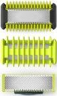 Сменные лезвия Philips OneBlade QP620/50 для лица с насадкой-гребнем для тела, 2 шт