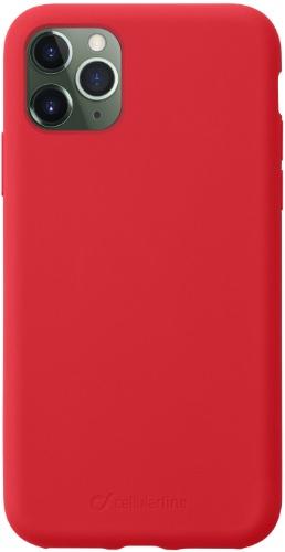 Чехол для смартфона Чехол Cellular Line Sensation для iPhone 11 Pro Max Red (SENSATIONIPHXIMAXR) Москва