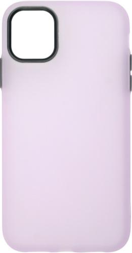 Чехол для смартфона Чехол InterStep Latex EL iPhone 11, светло-фиолетовый (IS-FCC-IPH652019-LX07S-ELGD00) Москва