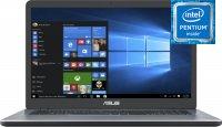 Ноутбук ASUS VivoBook 17 X705MA-BX014T (Intel Pentium N5000 1.1GHz/17.3''/1600x900/8GB/1ТВ/Intel UHD Graphics 605/DVD нет/Wi-Fi/Bluetooth/Win10)