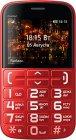 Мобильный телефон BQ mobile BQ-2441 Comfort Red/Black